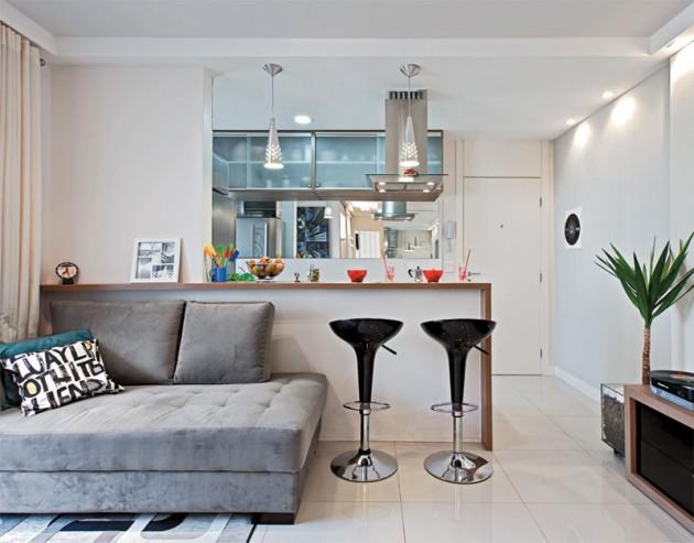 Uma boa ideia para um apartamento pequeno!