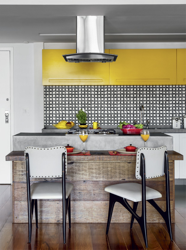 Uma cor em destaque! O amarelo é sempre bem vindo!