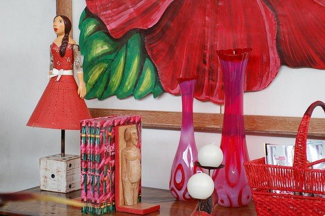Mistura de cores e tradição em objetos de decoração!