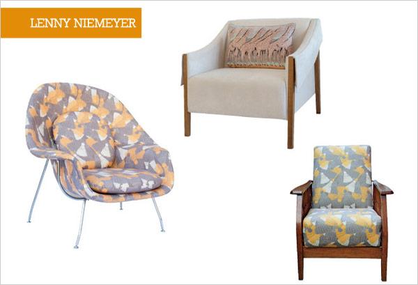 Para quem ama moda, revestidas com tecidos Lenny Niemeyer!!!