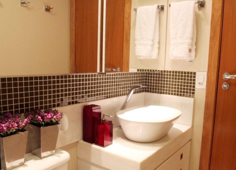Banheiros pequenos e eficientes!  Decasapramoda Blog -> Nicho Alvenaria Banheiro
