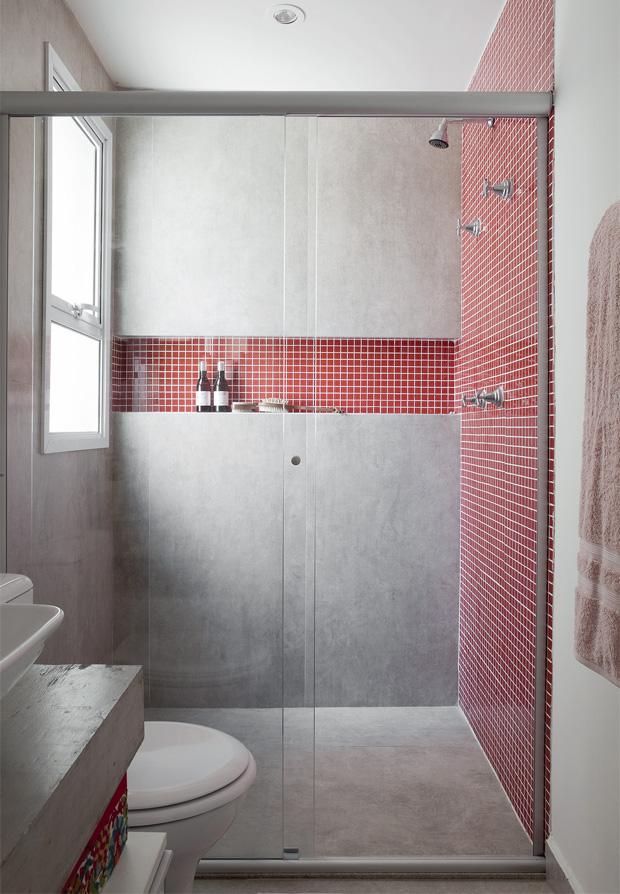 Banheiros pequenos e eficientes!  Decasapramoda Blog -> Nicho Para Banheiro Campinas