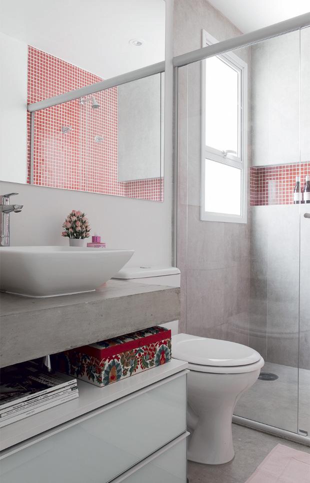 Banheiros pequenos e eficientes! – Decasapramoda Blog -> Nicho Para Banheiro Campinas