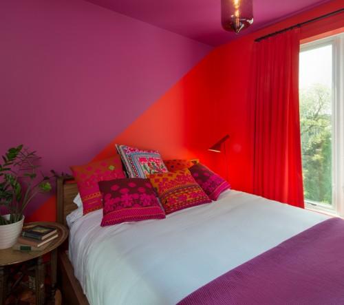 Ousar na cor do quarto de hóspedes significa dar boas vindas!!!