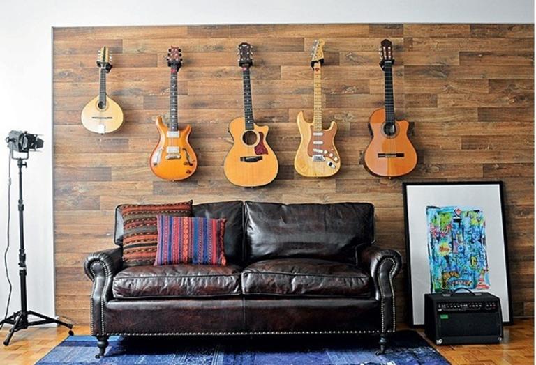 Madeira e instrumentos aparentes!