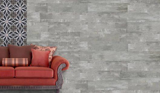 Inspirado no concreto aparente, a Ceusa lança no mercado o Porcellanato Concreto. Ref. 8330 | Retificado | 20,2 cm x 86,5 cm.