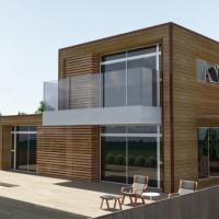 Casas de madeira!
