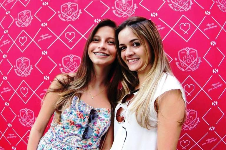 Eu e minha querida prima Julia! #loucasprosuperga