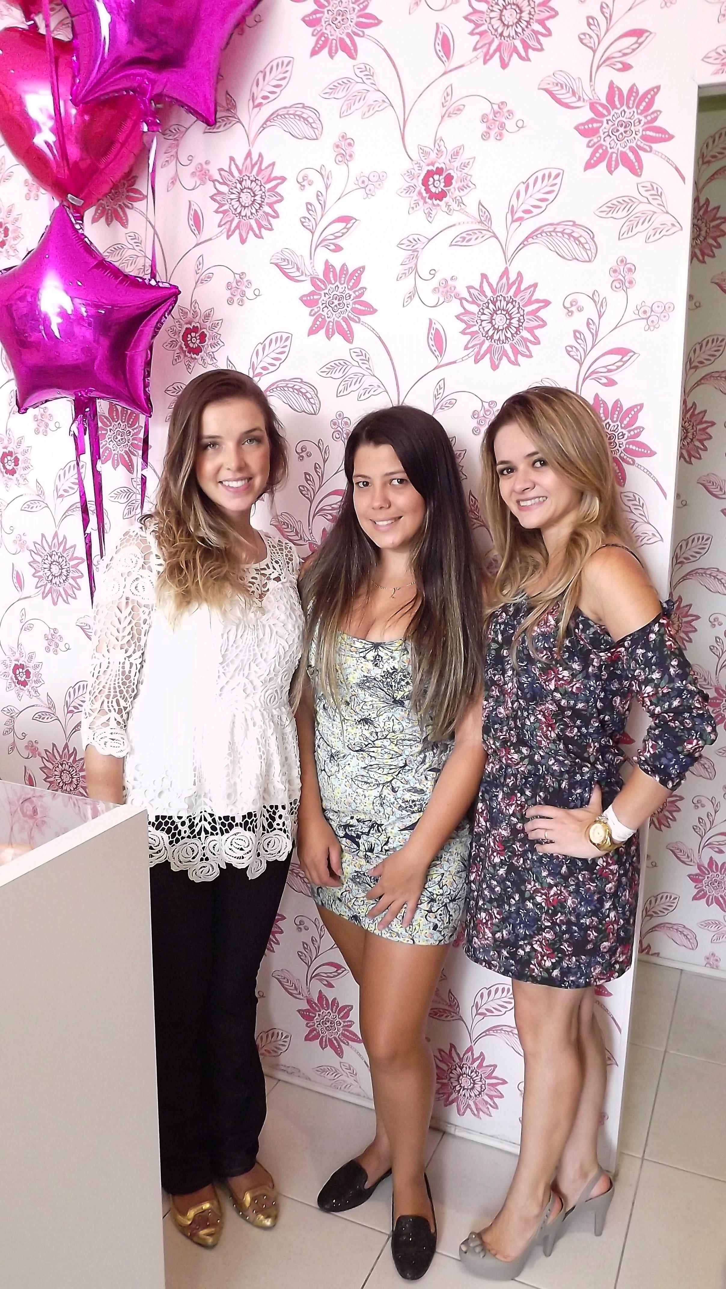 Meninas que brilham!!! Mariana, Bianca e eu!!!
