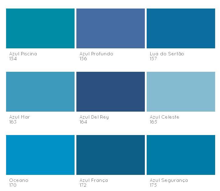azul tintas coral