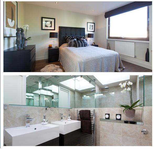 suite e banheiro casal