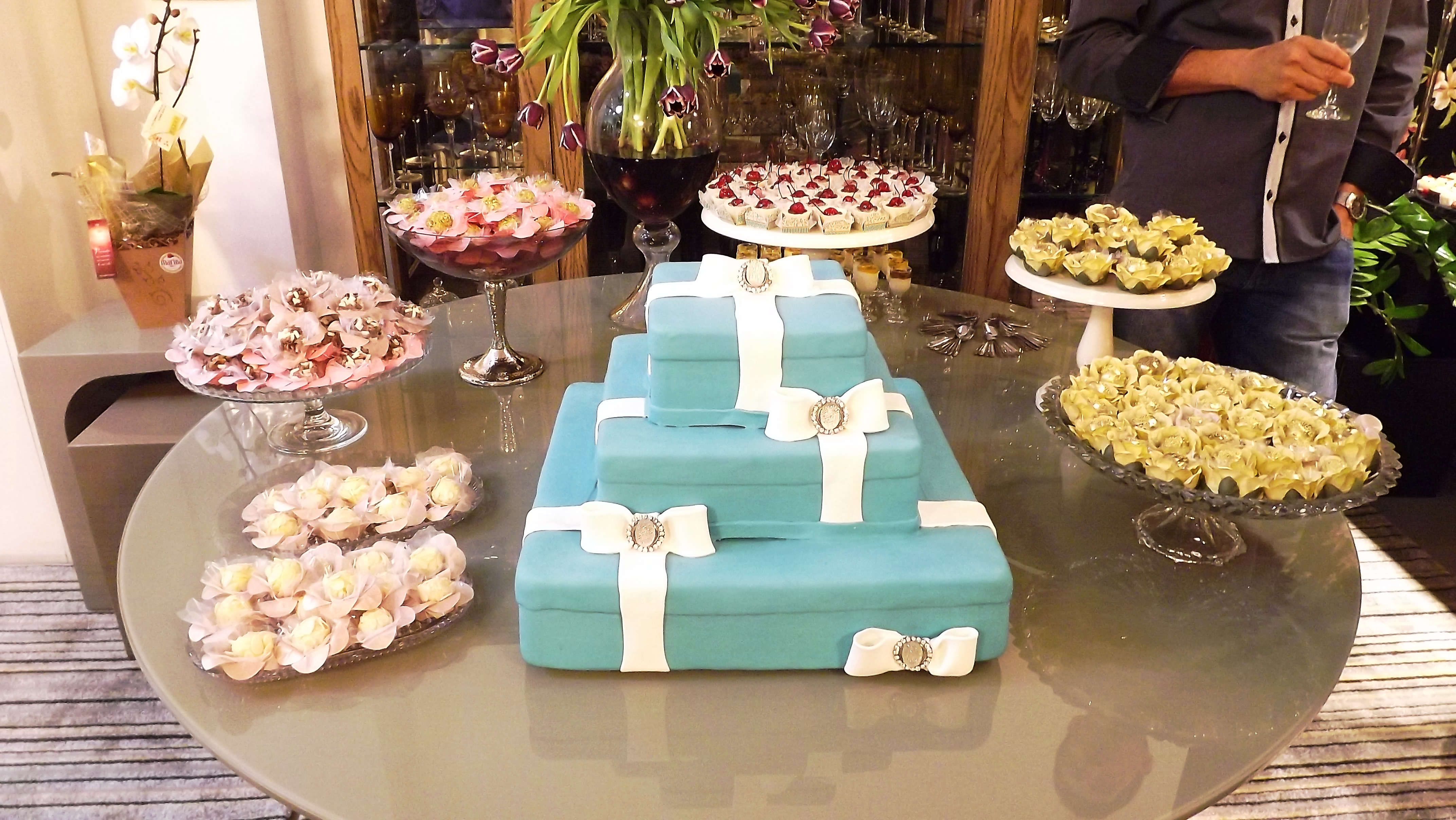 mesas dos doces