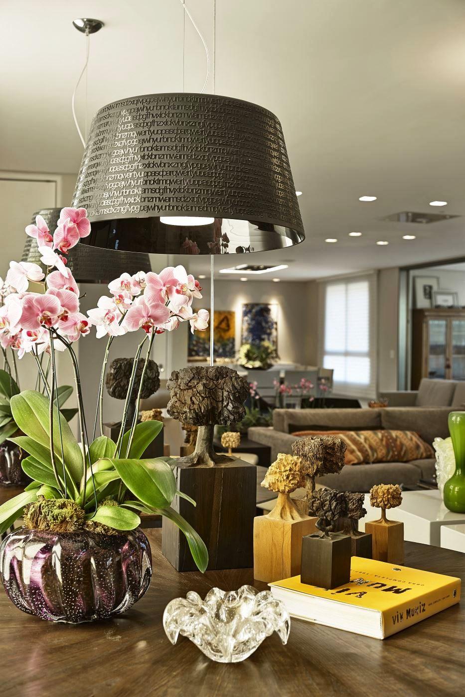 Flores, texturas e aconchego!! Tudo em sintonia compondo ambientes perfeitos!