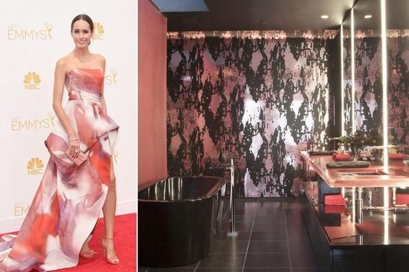 referencias entre a decoração e a moda!