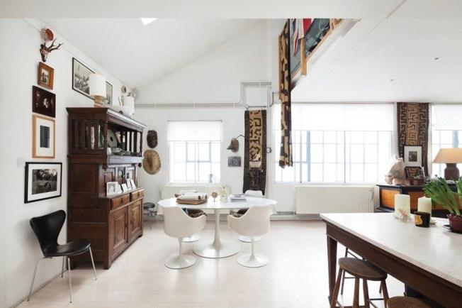 cozinha ampla loft