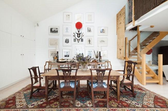 mesa de jantar loft