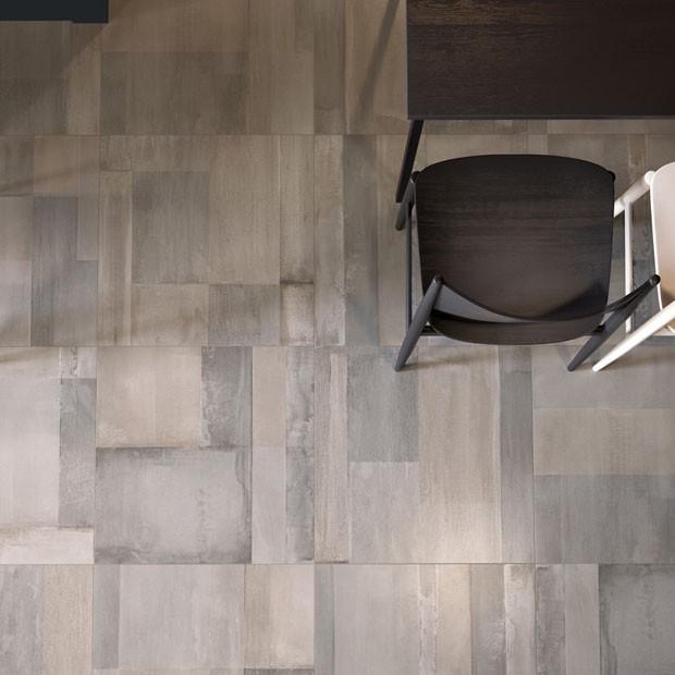 Ceramiche Supergres  pretende atingir o público jovem e descolado com a linha de revestimentos cerâmicos para pisos e paredes da coleção Brit, que mistura cores de forma leve e descompromissada.