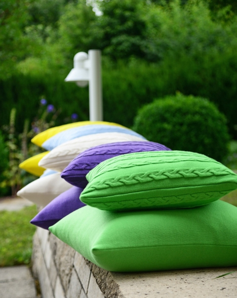 Almofadas coloridas!!!