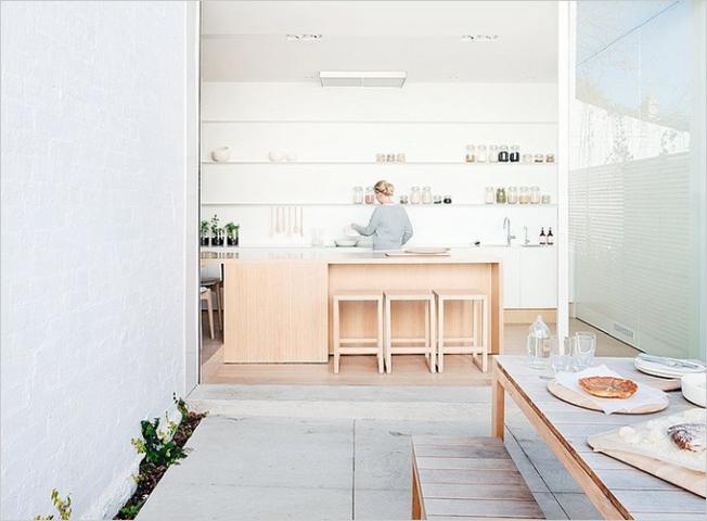 Uma cozinha para receber