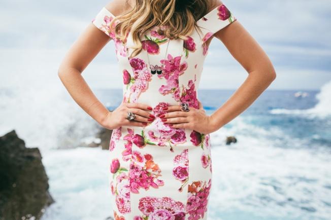 Vestidos floridos primavera 2014