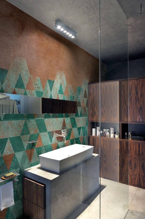 Wall&decò papeis de parede  A marca lança revestimentos para fachadas e áreas úmidas. Um luxo!