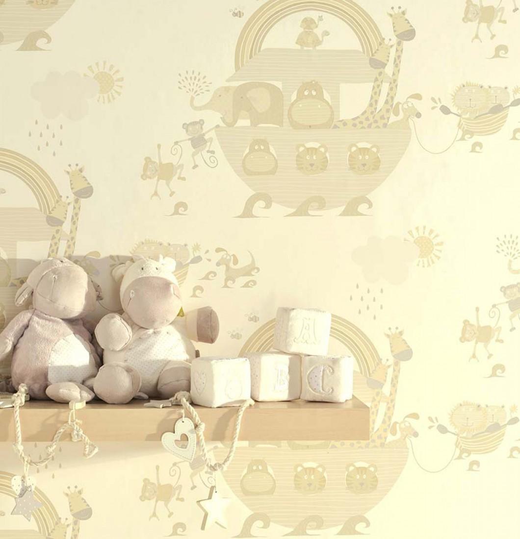 Alegria do papel de parede infantil decasapramoda blog - Papel de pared infantil ...