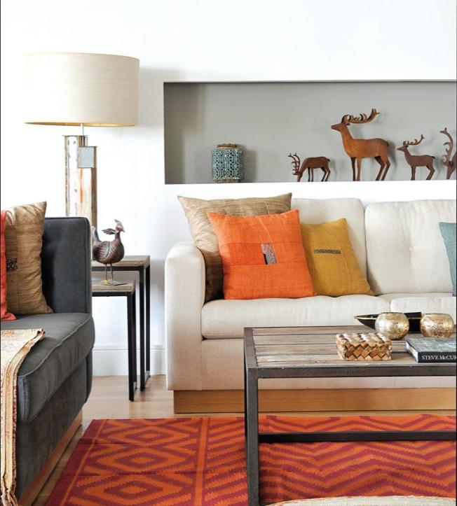 Tapeçaria confortável, composição perfeita nos tecidos e o toque industrial nas estruturas!!