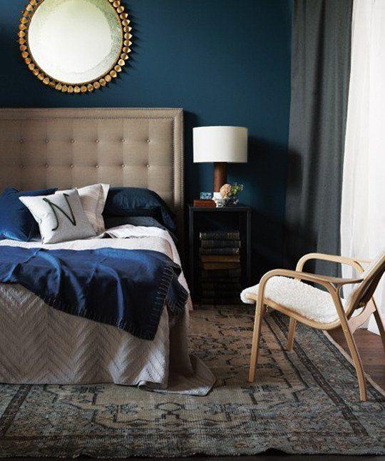 A tranquilidade do azul para dormir bem!!