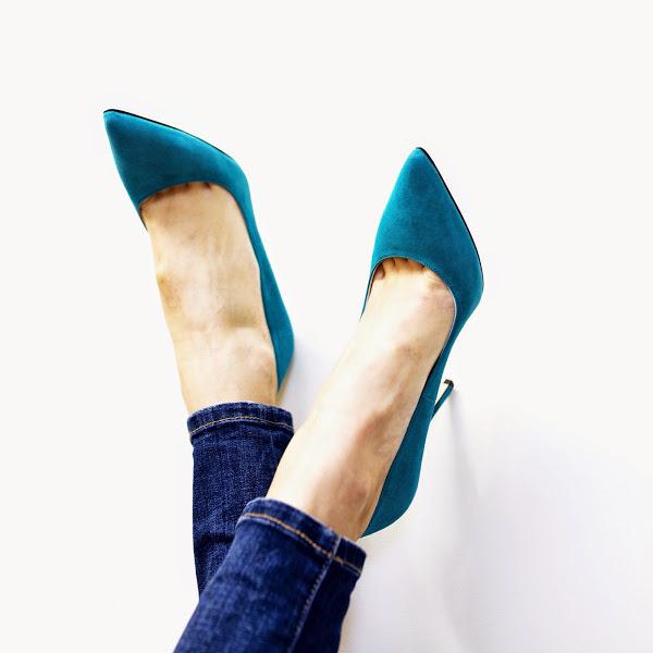 Jeans e sapatos!!