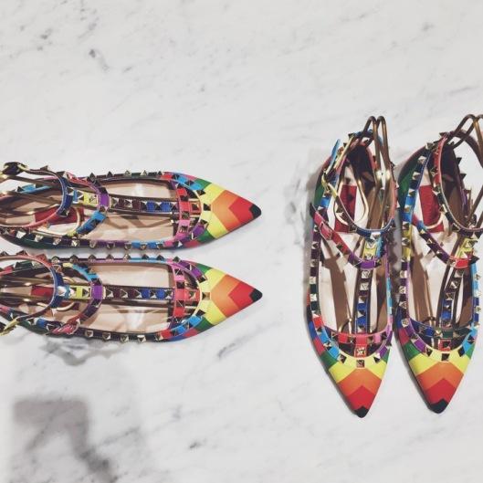 Coleçao arco-iris  - Valentino